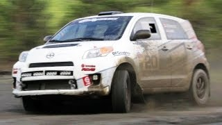 Rally Co-Driving with the Scion Racing Rally Team in the 2013 Scion xD – The J-Turn Ep. 10