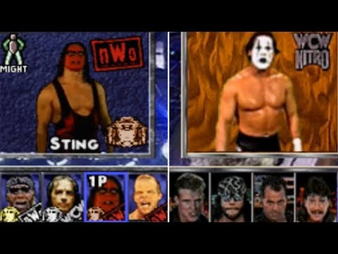 ROSTER RANTS YOU NEED TO SEE! WCW  Games