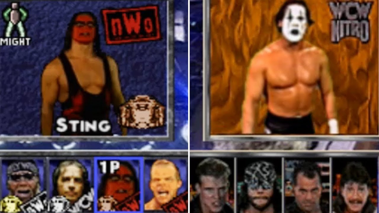 Roster Rants You Need To See Wcw Video Games Youtube