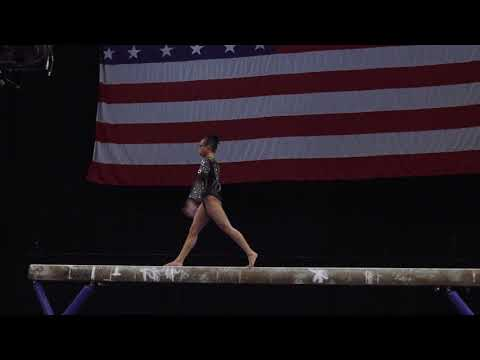 Morgan Hurd - Balance Beam – 2018 U.S. Gymnastics Championships – Senior Women Day 2