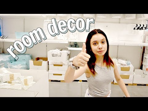 shop with me for my NEW ROOM DECOR IKEA