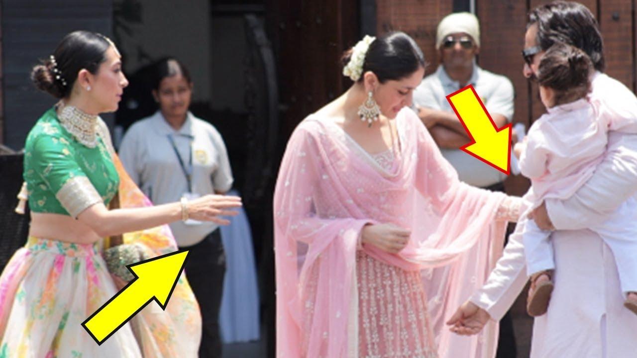 Saif Ali Khan Gets Angry On Kareena Kapoor At Sonam S Wedding Ceremony
