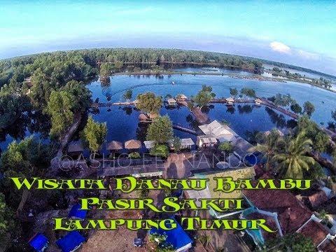 Objek Wisata Yang Lagi Hits Di Pasir Sakti Lampung Timur Danau Bambu