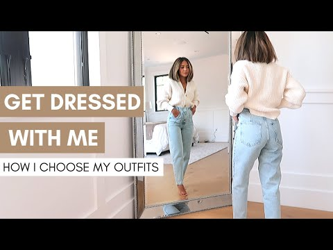 Get Dressed With Me | How I Choose My Outfits | Makeup | How To Build An Outfit