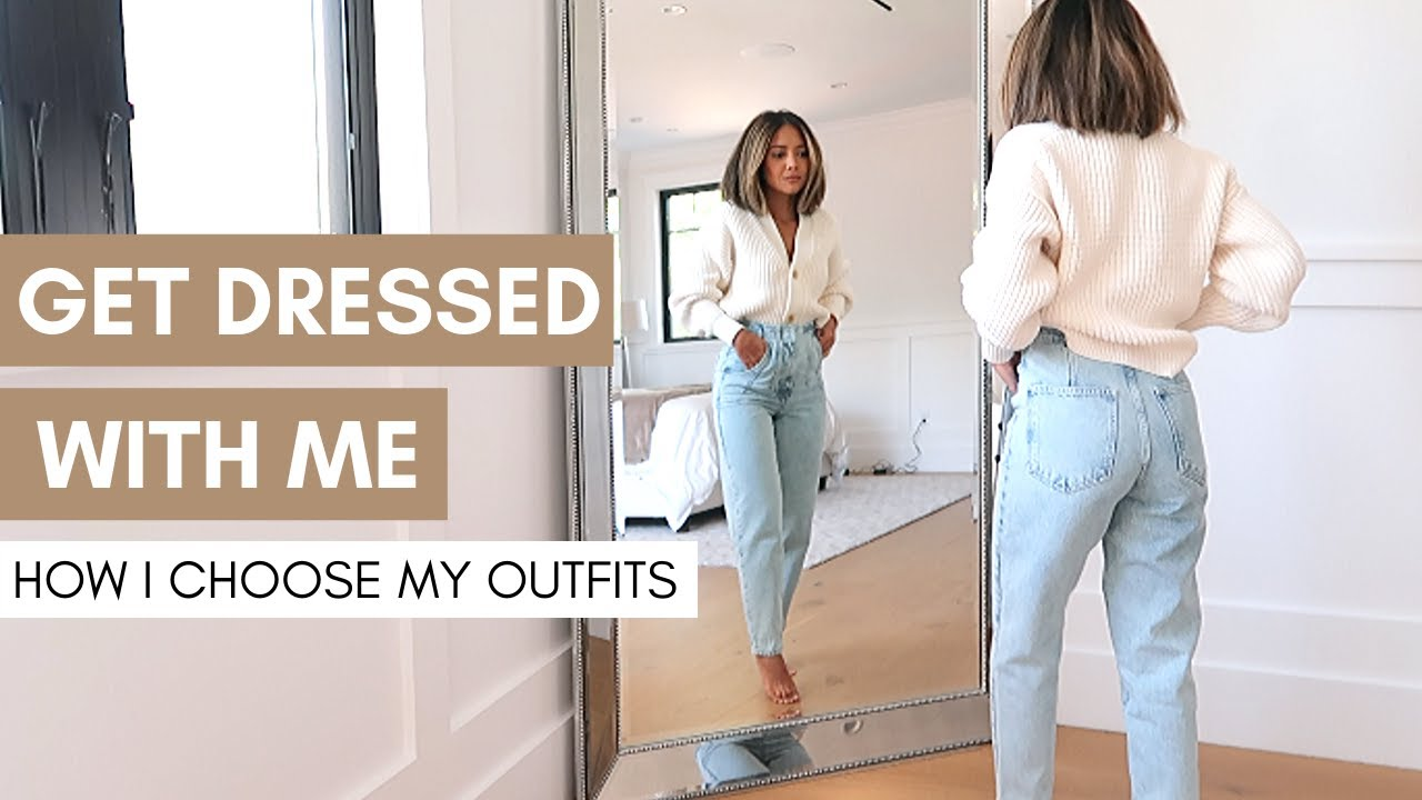 [VIDEO] - Get Dressed With Me | How I Choose My Outfits | Makeup | How To Build An Outfit 7