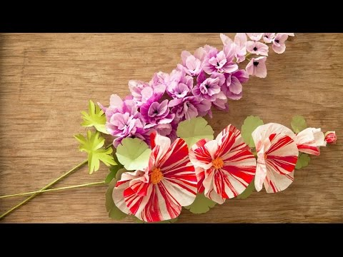 How to make paper flowers at home step by step easy youtube how to make paper flowers at home step by step easy mightylinksfo