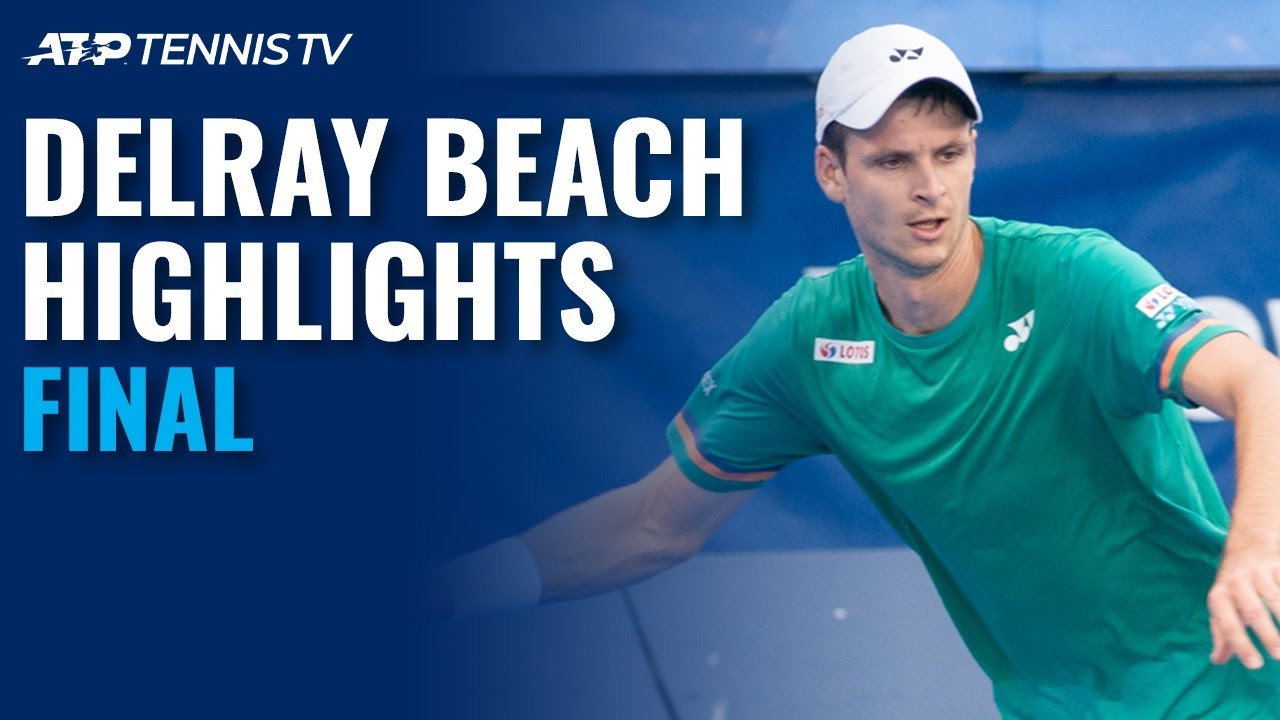 Hubert Hurkacz vs Sebastian Korda | Delray Beach Open 2021 Final Highlights
