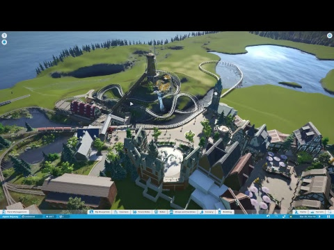 Alpine Odyssey | Planet Coaster Progress