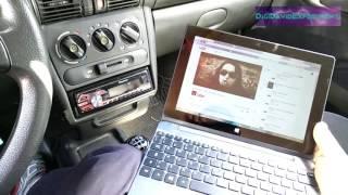 Autoradio Pioneer MVH-150UI modificata con modulo Bluetooth XS3868 - Deuxvolt