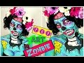 POP ART Zombie MAKEUP | Halloween Make up TUTORIAL | CARTOON Zombie (2016)