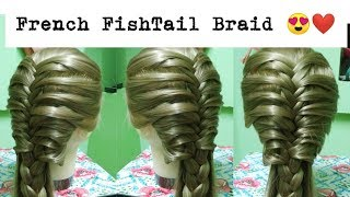 French FishTail Braid Hairstyle | Pretty Hairstyles