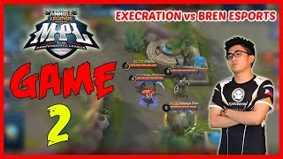 Leomord by Z4pnu! Bren Esports vs Execration | Game2 MPL PH Season2 Week1 Day2