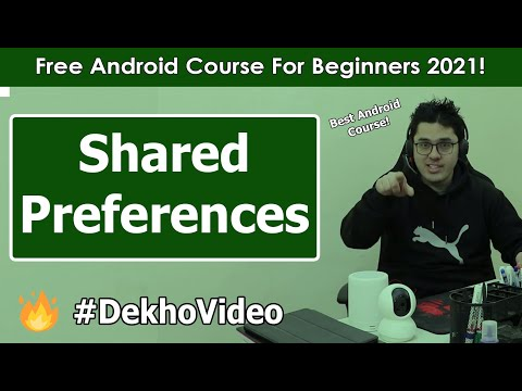 Shared Preferences: Saving data to Android device | Android Tutorials in Hindi #23 thumbnail