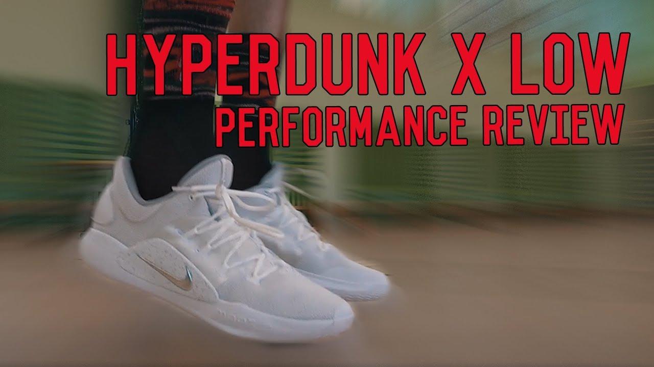 nike hyperdunk x low weartesters