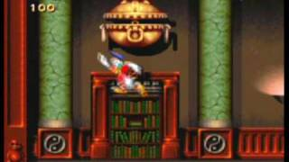 Maui Mallard in Cold Shadow - SNES Gameplay