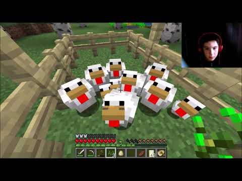 სამი სოფელი ვიპოვე და კინაღამ ორჯერ მოვკვდი (minecraft #3)