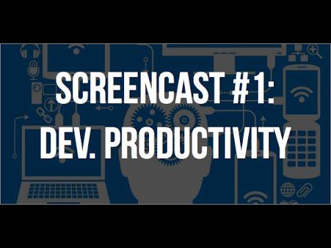 Software Developer Productivity Tips