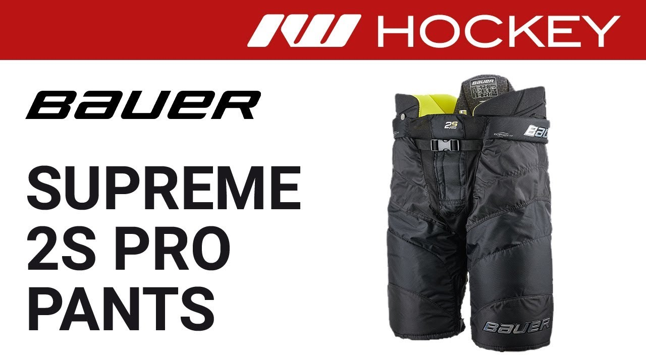 Bauer Supreme 2S Pro Ice Hockey Pant Review