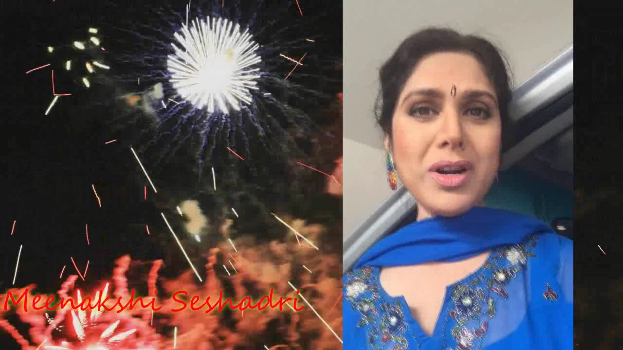 Meenakshi Seshadri wishing Happy 6th anniversary to Desiplaza || Dallas || USA