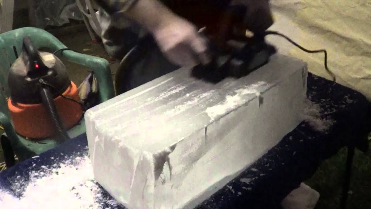 Making The Ice Luge 2013