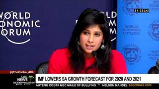 IMF cuts growth forecast for SA
