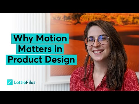 Why Motion Matters in Product Design with Design Lead Gabriela Schmitz from LottieFiles