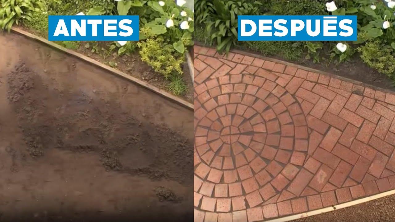 como hacer un suelo de ladrillo