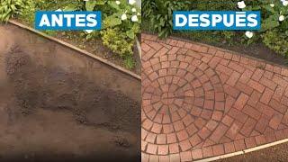 ¿Cómo hacer un suelo de ladrillo?