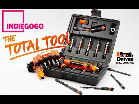 Indiegogo   Magnet Driver™ DDN: The Total Tool to Drill, Drive and Nail.