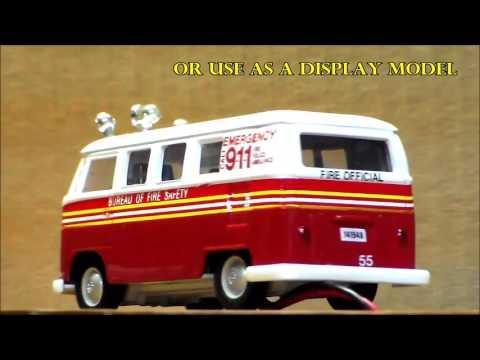 Fire marshall's microbus