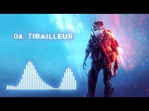 Battlefield V  Soundtrack - 04 Tirailleur   60fps With Visualizer