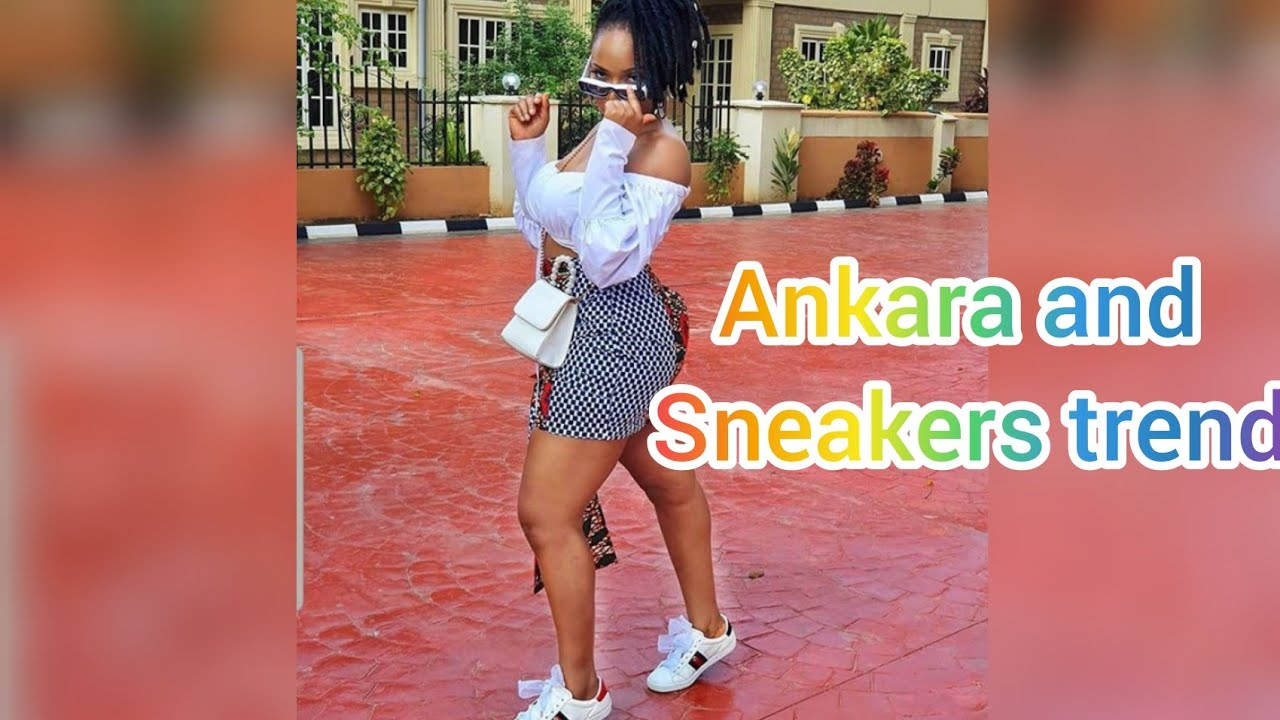[VIDEO] - #Ankara and #sneakers outfit ideas 2019; GET #TRENDY 1