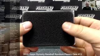 12/9/2018 2018 Topps Dynasty Baseball Random Players Case #11