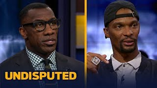 Chris Bosh on why LeBron should join the Houston Rockets next season | NBA | UNDISPUTED