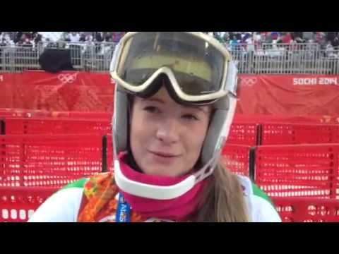 Short interview with Florence Bell, Alpine Ski Racer