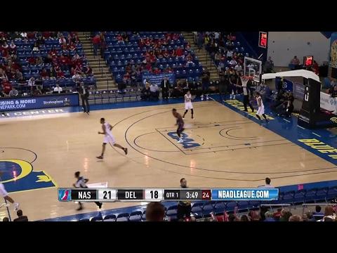 Derek Cooke Jr. throws it down vs. the 87ers