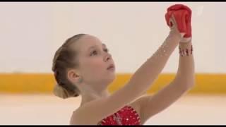 Елизавета Берестовская Первенство России среди юниоров 2020 Короткая программа