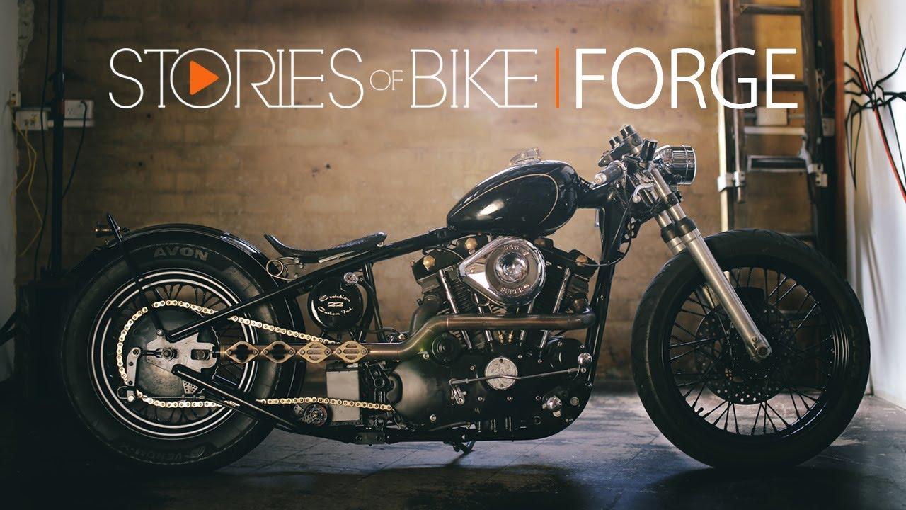 Stories Of Bike Forge A 73 Harley Davidson Ironhead Story
