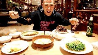 Traditional SUZHOU FOOD on Guan Qian Shopping Street - Crab Tofu, Eel & Pork Ribs   Suzhou, China