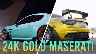 DUBAI MASERATI WITH 24K GOLD | Cinematic |
