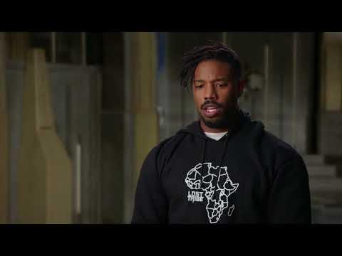 "BLACK PANTHER ""Erik Killmonger"" Interview - Michael B. Jordan"