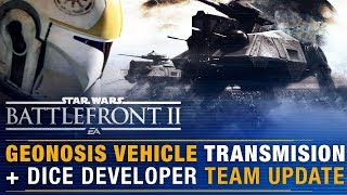 MOBILE SPAWN POINTS + Geonosis Vehicle Transmission + DICE Dev Team Update  | Battlefront Update