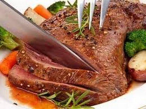 «Ростбиф из нежной мякоти лопатки и стейки из говядины»