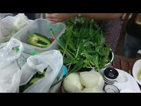 Thai food classes en Bangkok Thai Cooking Academy.