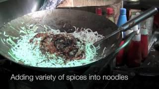 Indian Street Food Noodles | How to make Hakka Noodles