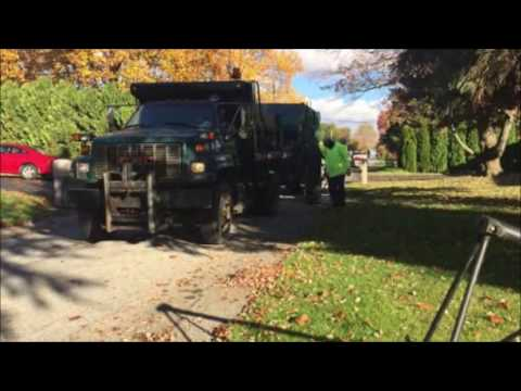 Bethlehem Township Leaf Collection Video