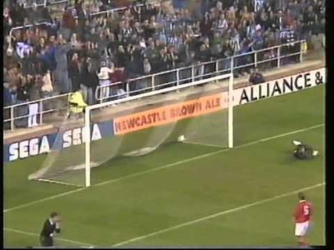 1994 September 27 Newcastle England 5 Antwerp Belgium 2 UEFA Cup