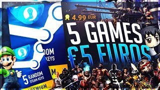 I bought 5 Random European Steam Games for €5... thumbnail