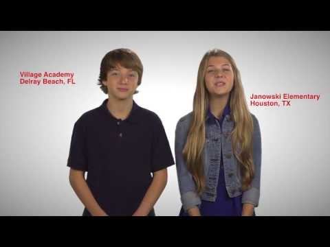 Blessings in a Backpack PSA  featuring Disney star Jake Short and Olivia Osteen