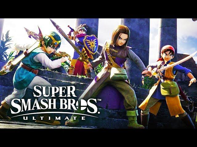Smash Bros Ultimate DLC Character LEAK: Hero, Banjo Kazooie release